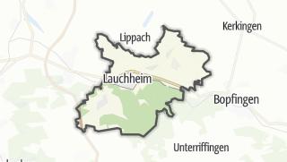 地图 / Lauchheim