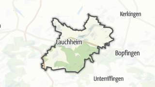 Mapa / Lauchheim