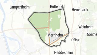 Karte / Viernheim