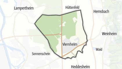Map Of Viernheim Germany.The 10 Best Hikes In Viernheim