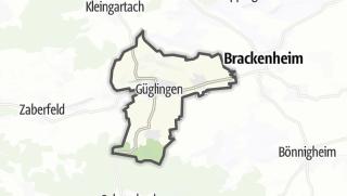 地图 / Güglingen
