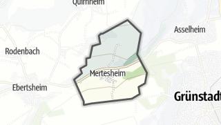 Mapa / Mertesheim