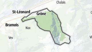 Mapa / Grône