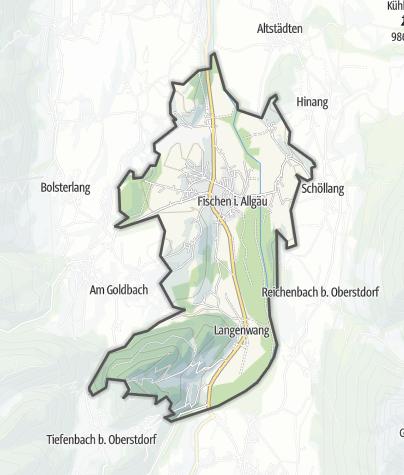 Map / Fischen im Allgäu