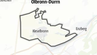 Cartina / Kieselbronn