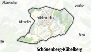 Karte / Brücken (Pfalz)