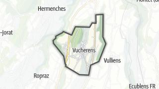 Mapa / Vucherens
