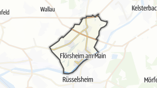 Mapa / Floersheim am Main