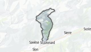 Térkép / Ayent