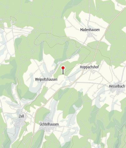 Karte / Hütte an der Haselstaude