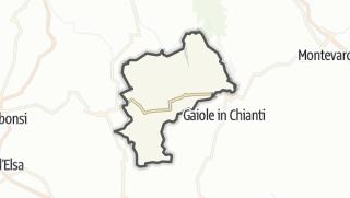 מפה / Radda in Chianti
