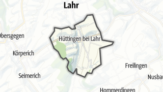 地图 / Huettingen near Lahr