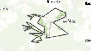 Mapa / Strassberg