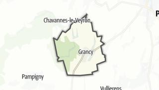 Карта / Grancy