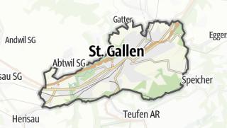 地图 / St. Gallen