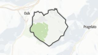 מפה / Sauze d'Oulx