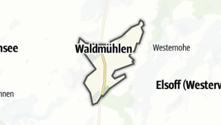 Mapa / Waldmühlen