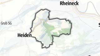 Karte / Wolfhalden