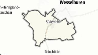 Mapa / Süderdeich
