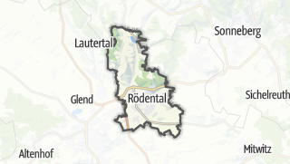 מפה / Rödental
