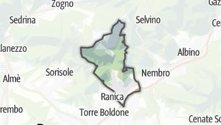 Hartă / Alzano Lombardo