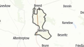 Cartina / Werder