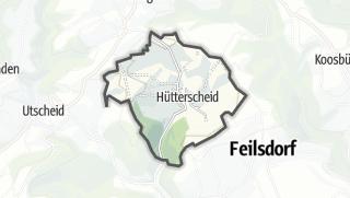 地图 / Hütterscheid