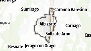 Mapa / Albizzate