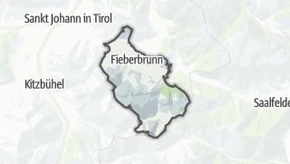 Karte / Fieberbrunn