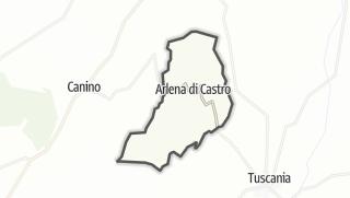 Hartă / Arlena di Castro