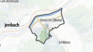 Karte / Strass im Zillertal