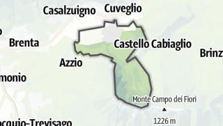 Mapa / Cuvio