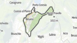 Mapa / Besano