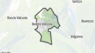 Mapa / Bedero Valcuvia