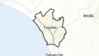 Hartă / Tarquinia