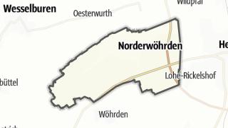 Mapa / Norderwöhrden