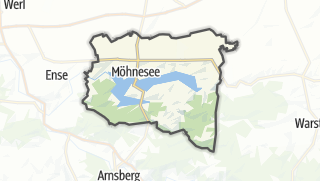 Mapa / Möhnesee