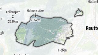 Cartina / Wängle