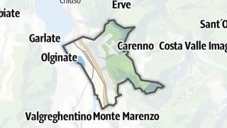 地图 / Calolziocorte