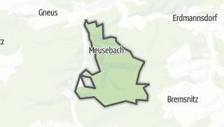 Karte / Meusebach