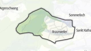 Karte / Braunweiler