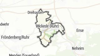 地图 / Wickede (Ruhr)