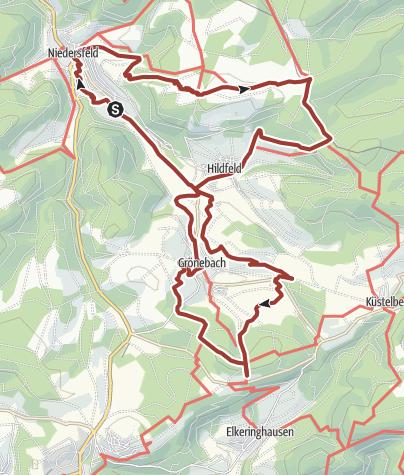Karte / Von Irrgeistern und Geisterdörfern