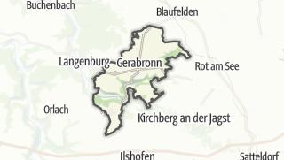 地图 / Gerabronn