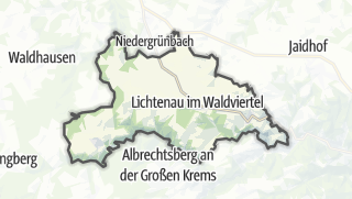 Cartina / Lichtenau im Waldviertel