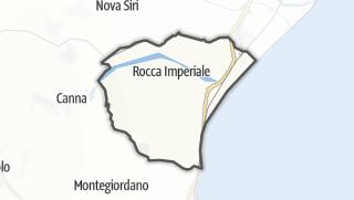 Térkép / Rocca Imperiale