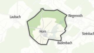 Karte / Horn