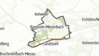 Cartina / Ramstein-Miesenbach