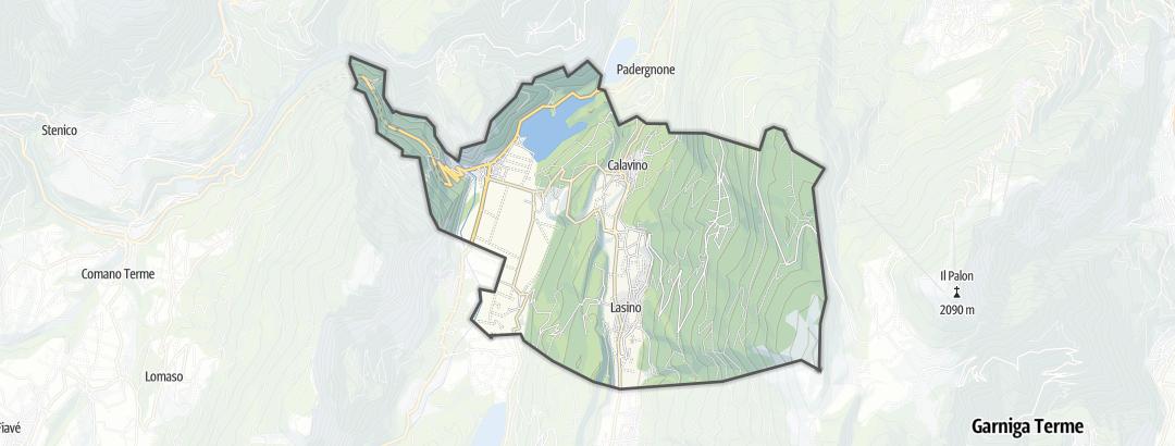 Carte / Vélo - Madruzzo