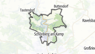 Cartina / Schonberg am Kamp